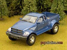 Die Cast Blue Dodge Ram Power Wagon Pickup O Scale 1:42 By Kinsmart