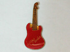 Iron Maiden Guitar Pin (Red) (#64)