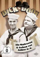DVD * DICK & DOOF - ALS MATROSEN & GEHEN VOR ANKER U.A. # NEU OVP /