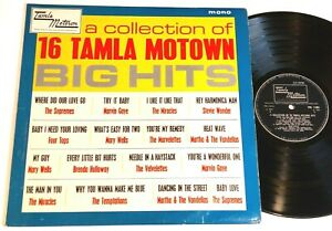 a collection of 16 TAMLA MOTOWN big hits - UK LP mono TML11001 1st UK LP 1965