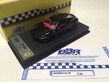 1/43 BBR Ferrari F430 Coupe Matt Black 2004 Schedoni Base Limited 20 Pcs. #1/20