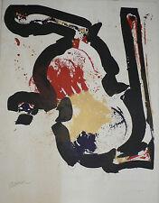 Lithographie Originale d' ARMAN .