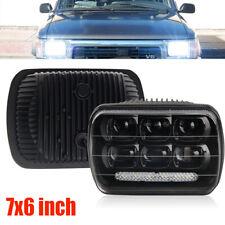 "DOT 7x6"" 120W LED Headlight Hi-Lo DRL For Chevy Express Cargo Van 1500 2500 3500"