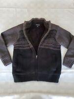 Tricots St Raphael Full Zip Insulated Sweater Pockets Size Medium Jacket