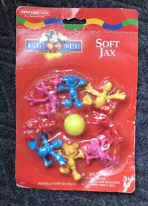 Vintage TootsieToy Soft Jax Mickey For Kids Disney Mickey Minnie Donald Goofy