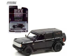 GREENLIGHT  BLACK BANDIT SERIES 25 1:64 2021 BLACK FORD BRONCO WILDTRAK 28070 F