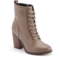 Candies Casual Boots Tan Size 9
