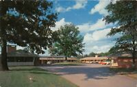 Atlanta Georgia 1950s Postcard Hopkins Motel
