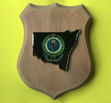 NSW Police wooden plaque