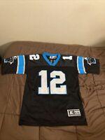 Vintage Carolina Panthers NFL Kerry Collins Jersey Size S/M Starter 1997 (RARE)