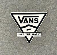 "VANS Off The Wall Tri Skateboard Sticker 3.5"""