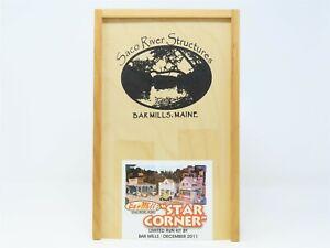 "HO 1/87 Scale Bar Mills Kit Saco River ""Star Corner"" Limited Run December 2011"