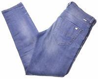 DIESEL Mens Jeans W29 L30 Blue Cotton Slim-Carrot Tapphar Z111