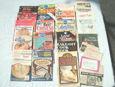 Vtg 1946-1996- Pillsbury Bake Off-Grand National Cookbooks- 25 Plus Pcs--Orig.