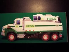 BRAND NEW 2017 HESS TOY DUMP TRUCK AND LOADER IN HAND