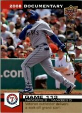 A8897- 2008 Upper Deck Documentary Gold 3440-4860 -You Pick- 10+ FREE US SHIP