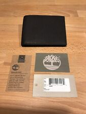 Timberland MM147 Black Leather Bifold Mens Wallet! New! Only £29.90!