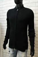 Cardigan Uomo North Sails Taglia L Pullover Sweater Man Maglia Maglione Nero