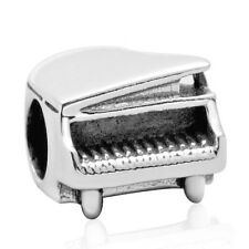 PIANO  Charm Bead 925 Sterling Silver