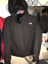 The North Face Woman's Black HyVENT Waterproof Hiking Outdoor Jacket Size L