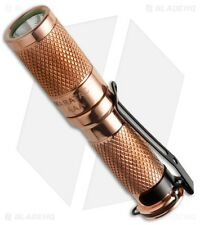Maratac AAA Copper Rev4 Nichia 219 LED Flashlight - Brand New in sealed package