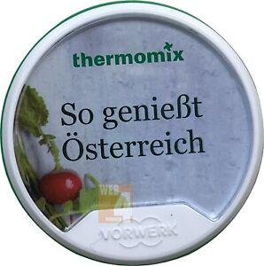 REZEPT-CHIP Vorwerk Thermomix SO GENIESST ÖSTERREICH Kochbuch Chip TM5