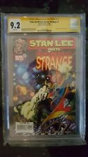 Stan Lee Meets Doctor Strange 1 Signed By Stan Lee On 1/13/18 CGC 9.2