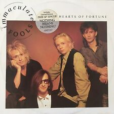 """VINYLE -IMMACULATE FOOLS """"Hearts Of Fortune """" - 12"""" maxi 45T"""