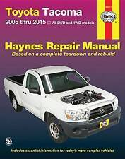 Toyota Tacoma Automotive Repair Manual by Editors of Haynes Manuals...