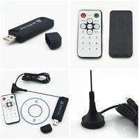 NEW USB DVB-T &RTL-SDR Realtek RTL2832U & R820T DVB-T Tuner Receiver MCX Input♡