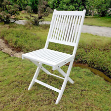 Royal Fiji Acacia Folding Garden Chair (Set of 2)