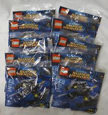 Set of 10 Lego 30301 DC Comics Super Heroes Batman Batwing Set Exclusive Polybag