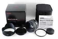 Near Mint!! Sigma 50mm F1.4 EX DG HSM Lens for Nikon from Japan 1639
