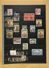 [OP4446] Poland lot of stamps on 12 pages