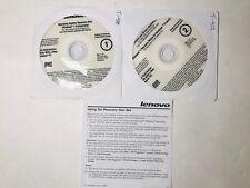 Lenovo Windows 7 Recovery Disc Set for T-400 32 Bit Computing