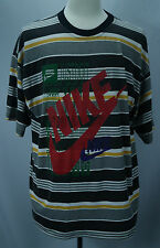 VTG 80's Nike Swoosh JUST DO IT 50/50 T-Shirt Made in USA THIN/SOFT Sz XL EUC