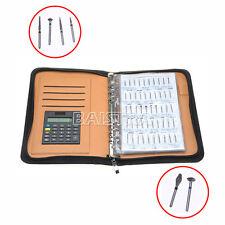 1 Kit Dental 210 Models Diamond Burs Demonstation Book for Dentists SALE