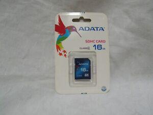 ADATA 16GB Capacity SDHC Class 4 Memory Card NIP