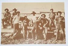Postcard- The Shearers c.1895 - Australian Yesteryear Cards - History