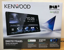 "Kenwood DMX-7017DABS 7"" Inch Bluetooth USB Aux Android Auto Car Play Van Stereo"
