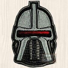Battlestar Galactica Cylon Helmet Patch Lieutenant Starbuck 1978 Embroidered