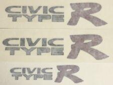 Genuine OEM Honda CIVIC TYPE R side and rear Decal set DARK outline CTR EK9