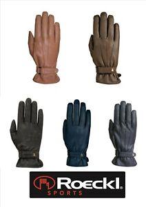 % ROECKL Reithandschuhe Handschuhe  WINTER WAGO % Dame warm reite size 6.5-8.5