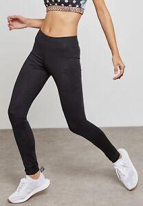 Adidas Originals League Octagon Black Leggings Size UK6,8,10,12,14,16,18 New 769