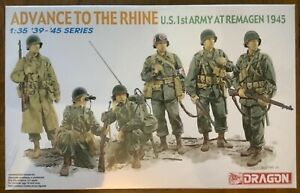 Dragon 1:35 1939 - 1945 Series Advance to the Rhine U S 1st Army at Remagen 1945