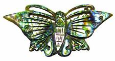 Brooch Butterfly Paua Abalone Shell Vintage 1970's