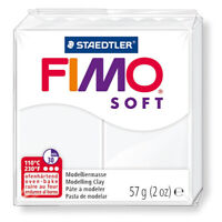 FIMO SOFT 57gr WHITE - Sculpting Clay - GSW