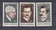 Rumänien Briefmarken 1981 Persönlichkeiten Mi. 3759-61