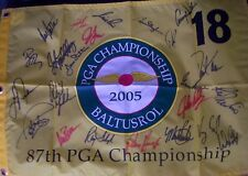 2005 PGA Championship golf flag auto Mickelson Azinger Daly Floyd Player Trevino