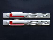 C6 Corvette SSR GTO CTS-V LS2 Engine Fender Badge Pair (5 colors)